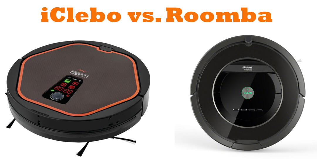 iClebo vs Roomba