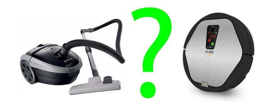 Робот-пылесос или обычный