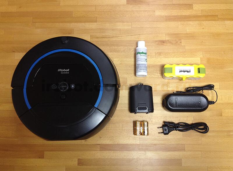 Комплектация моющего робота