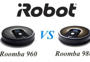 Сравнение iRobot Roomba 960 и 980