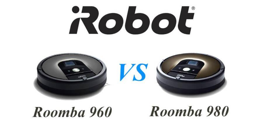 iRobot Roomba 960 vs 980