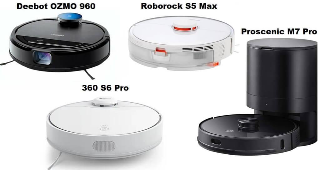 Лучшие китайские роботы-пылесосы