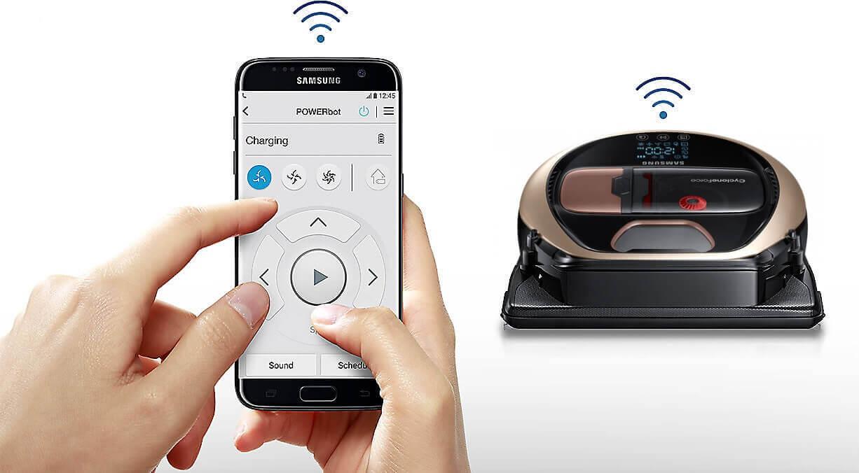Управление роботом-пылесосом с телефона