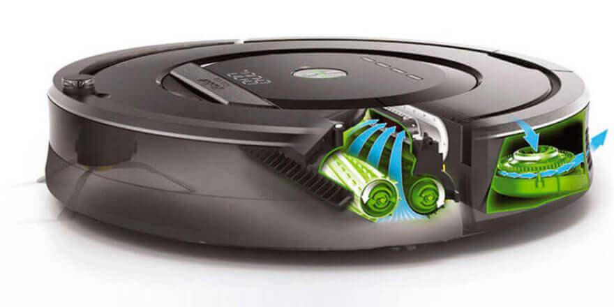 Мощный робот-пылесос