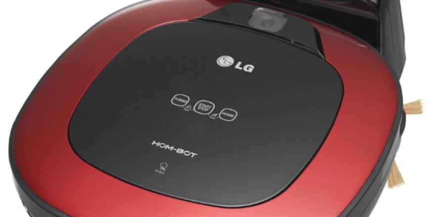 Отзывы о роботе-пылесосе LG VRF6043LR