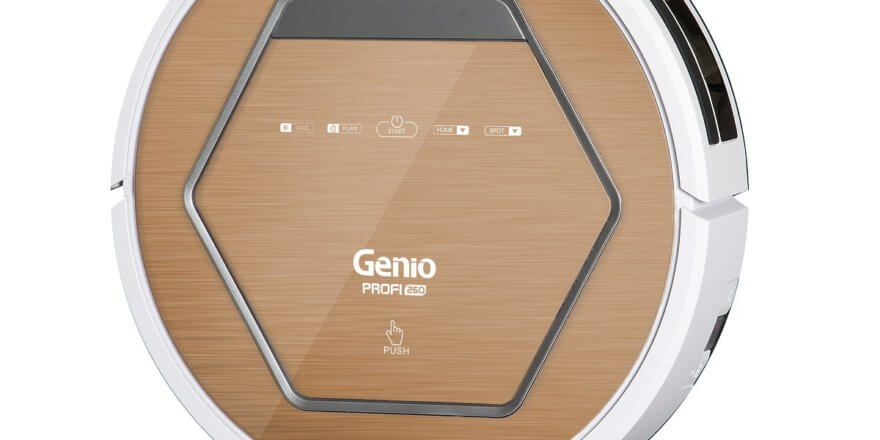 Отзывы о роботе-пылесосе Genio Profi 260