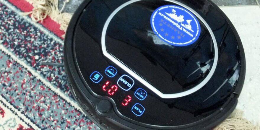 Робот-пылесос выдает ошибку