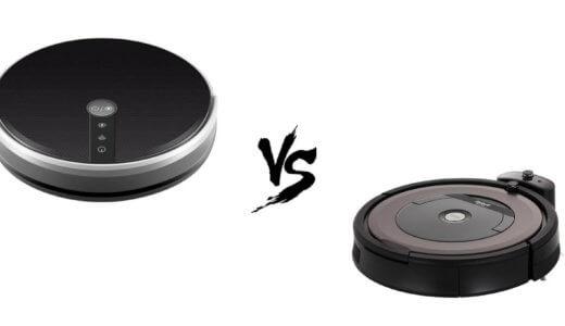 Сравнение Panda X7 и iRobot Roomba 896