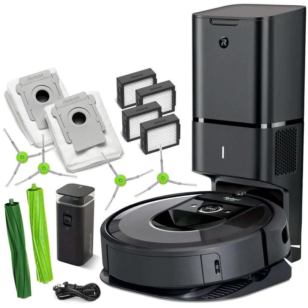 Комплектация Roomba i7+