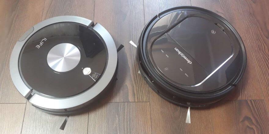 Сравнение iLife A9s и Clever&Clean AQUA-Series 03
