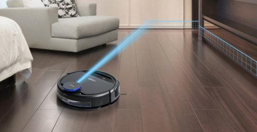 Робот-пылесос с лидаром