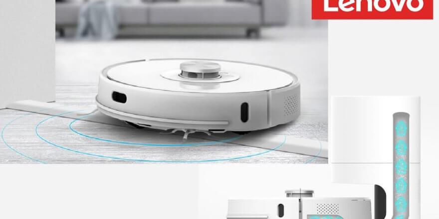 Робот-пылесос для сухой и влажной уборки с базой для самоочистки
