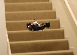 Летающие роботы-пылесосы могут стать реальностью - начало положено!