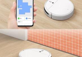 Важное обновление функций Xiaomi Mijia Sweeping Vacuum Cleaner 1C