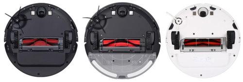 Roborock S6, S5 Max и S5 (вид снизу)