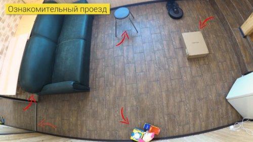 Препятствия в комнате
