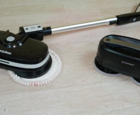 Сравнение робота-полотера и ручного полотера: как лучше мыть пол?!