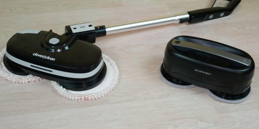 Сравнение робота-полотера и ручного полотера