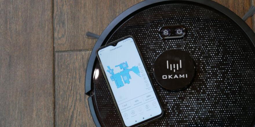 Приложение для роботов-пылесосов Okami