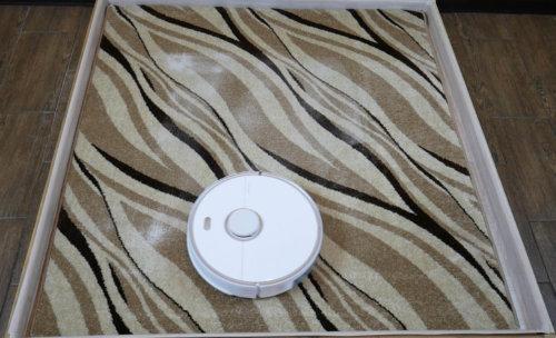 Уборка на ковре Roborock