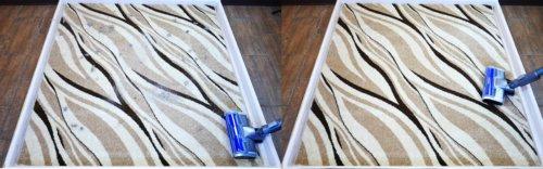 Качество уборки на ковре